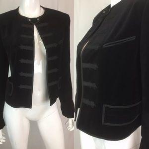 Polo Ralph Lauren Velvet Military Jacket Blazer